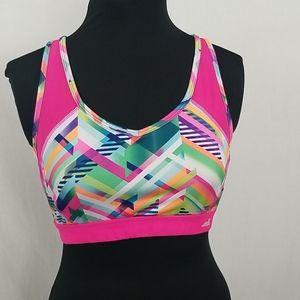 Avía pink sports bra size large